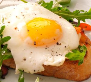 EggsGrilledBreadHome