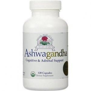 Ashwagandha by Ayush Herbs 120 vcaps