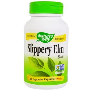 Slippery Elm Bark by Nature's Way 400mg (100 caps)