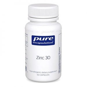 Zinc by Pure Encapsulations 30mg