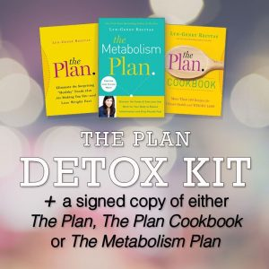 Detox Kit with signed book copy