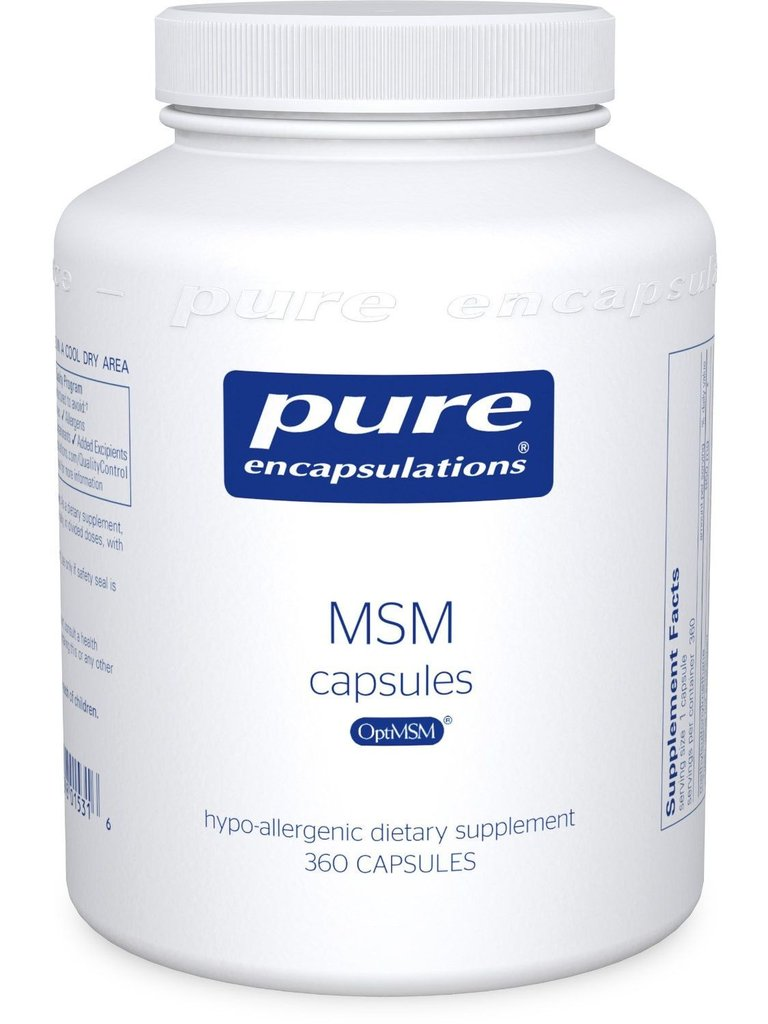 MSM - Heal Your Gut, Change Your Health | The Plan
