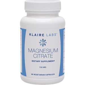 Magnesium Citrate 150 mg 90 vegcap