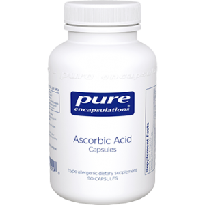 Ascorbic Acid Capsules by Pure Encapsulations